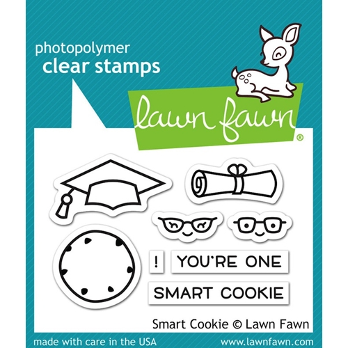 Lawn Fawn SMART COOKIE Clear Stamps LF1175 Preview Image