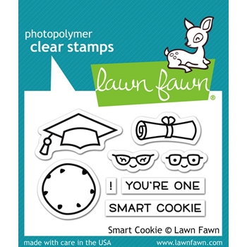 Lawn Fawn SMART COOKIE Clear Stamps LF1175