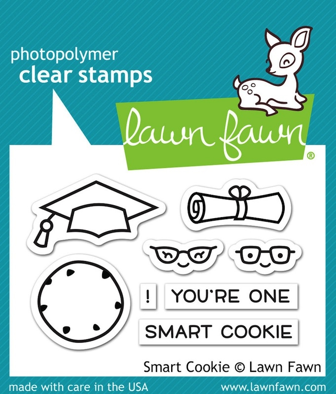 Lawn Fawn SMART COOKIE Clear Stamps LF1175 zoom image