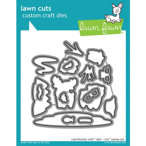 Lawn Fawn DAD AND ME Lawn Cuts Dies LF1164 Preview Image