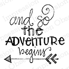 Impression Obsession Cling Stamp THE ADVENTURE C19203 Preview Image