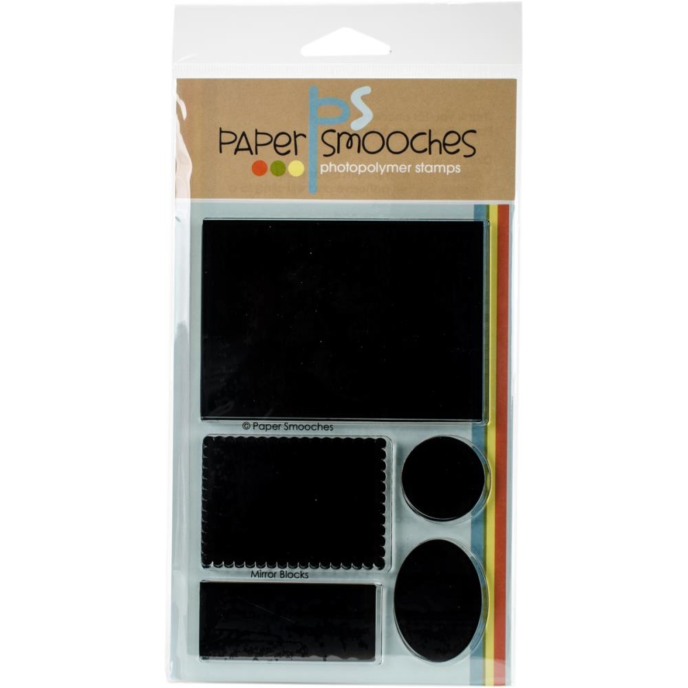 Paper Smooches MIRROR BLOCKS Clear Stamps A1S267 zoom image