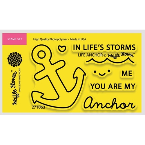 Waffle Flower LIFE ANCHOR Clear Stamp Set 271063 Preview Image