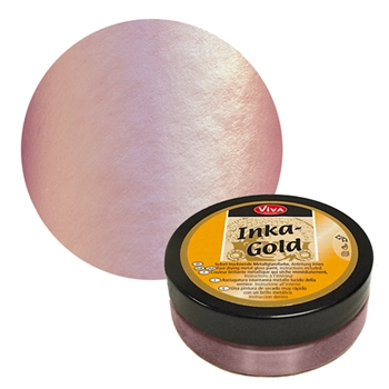 Viva Decor ROSE QUARTZ Inka Gold Beeswax Polish 2.2oz 616960