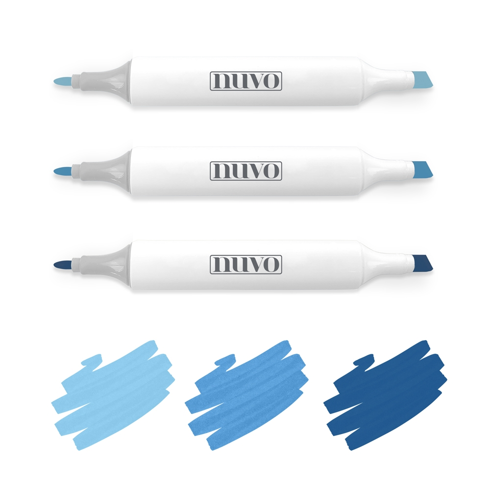 Tonic MARINA BLUES Nuvo Creative Pen Collection 314N zoom image