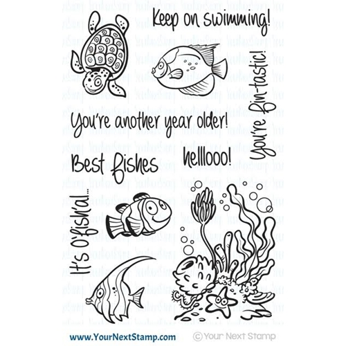 Your Next Stamp FISHY FUN Clear CYNS393* Preview Image