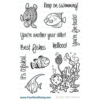 Your Next Stamp FISHY FUN Clear CYNS393*
