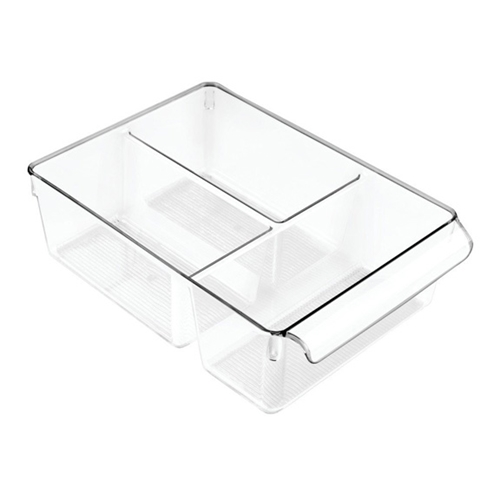 InterDesign LINUS PULLZ 8 Plastic Bin With Dividers 59630 Preview Image