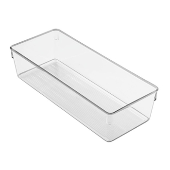 InterDesign LINUS DRESSER 5 Plastic Drawer Bin 60430