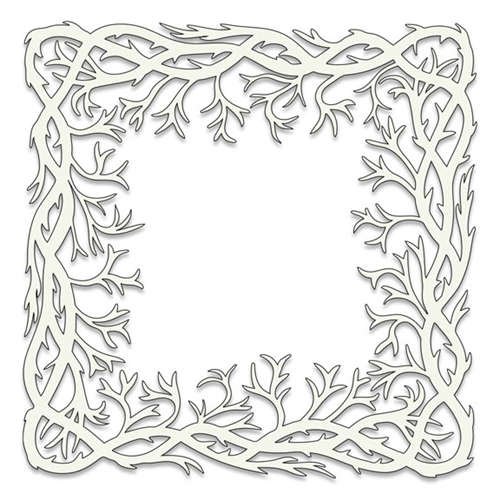 Claritystamp SEAWEED FRAME 6x6 Stencil STESE0007566 Preview Image