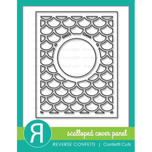 Reverse Confetti Cuts SCALLOPED COVER PANEL DIE Set  Preview Image