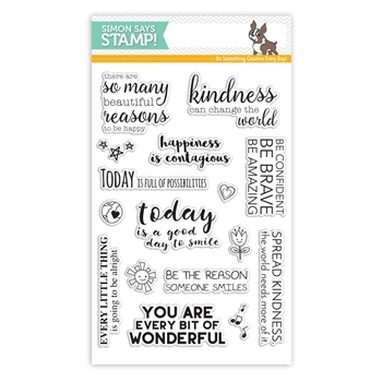 Simon Says Clear Stamps UPLIFTING THOUGHTS SSS101623 Among The Stars