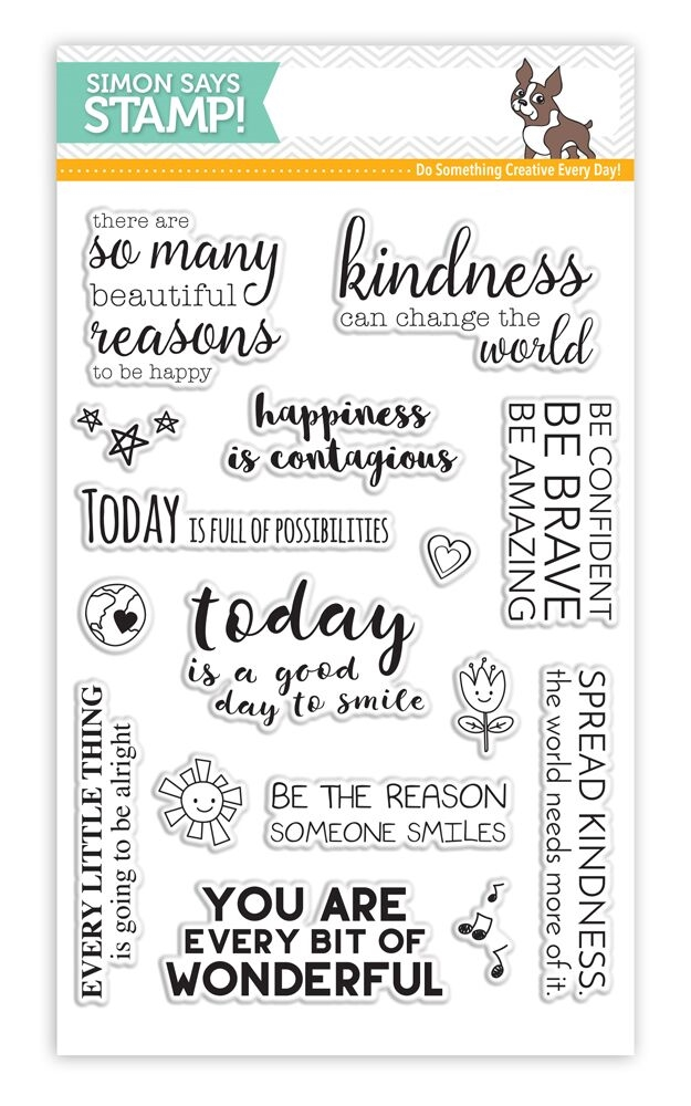 Simon Says Clear Stamps UPLIFTING THOUGHTS SSS101623 Among The Stars  zoom image