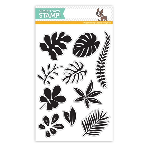 Simon Says Clear Stamps TROPICAL LEAVES SSS101620 Among The Stars * Preview Image