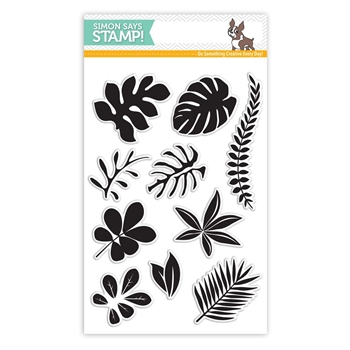 Simon Says Clear Stamps TROPICAL LEAVES SSS101620 Among The Stars *