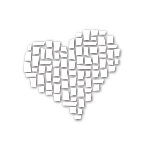 Simon Says Stamp MOSAIC HEART Wafer Dies SSSD111591 Among The Stars Preview Image