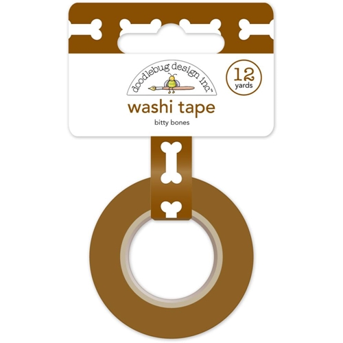 Doodlebug BITTY BONES Puppy Play Washi Tape 5223 Preview Image