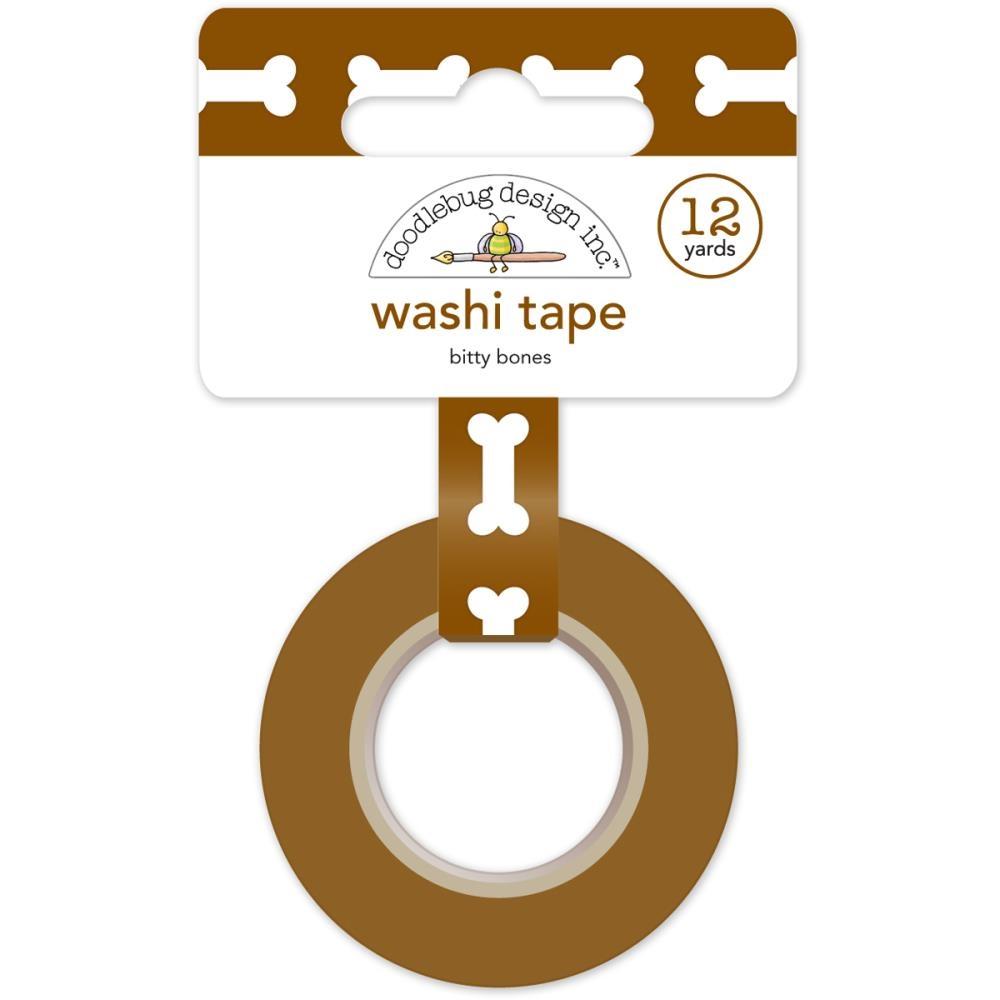 Doodlebug BITTY BONES Puppy Play Washi Tape 5223 zoom image