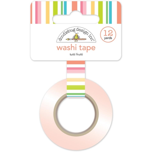 Doodlebug TUTTI FRUTTI Fun In The Sun Washi Tape 5216 Preview Image