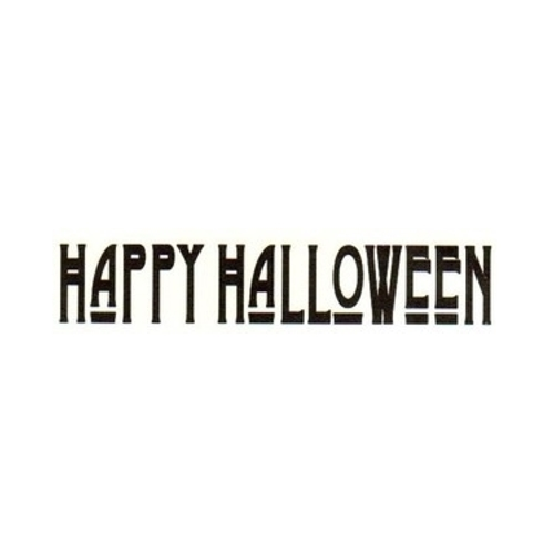 Tim Holtz Rubber Stamp HAPPY HALLOWEEN G3-1345* Preview Image