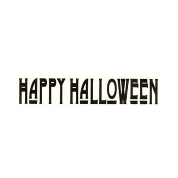 Tim Holtz Rubber Stamp HAPPY HALLOWEEN G3-1345