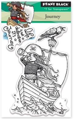 Penny Black Clear Stamps JOURNEY Set 30-367 zoom image