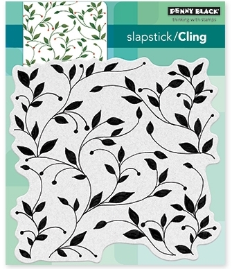 Penny Black Cling Stamp VERDURE 40 475 Preview Image