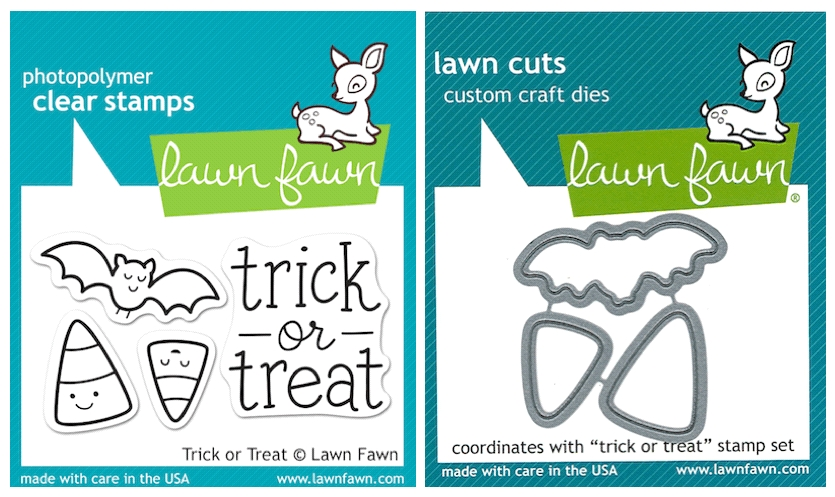 Lawn Fawn SET LFSETTOT TRICK OR TREAT Clear Stamps and Dies zoom image