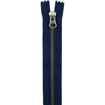 Tim Holtz Eclectic Elements NAVY 14 Inch Closed End Zipper 016318