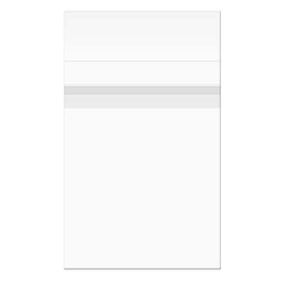 Clear Bags 4.625 x 5.75 BAG SEAL Close Pack of 100 B54100 zoom image