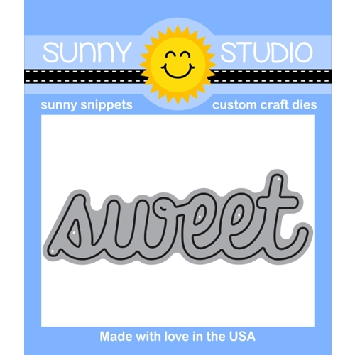 Sunny Studio SWEET WORD Snippets Die SUNNYSS-802 Preview Image