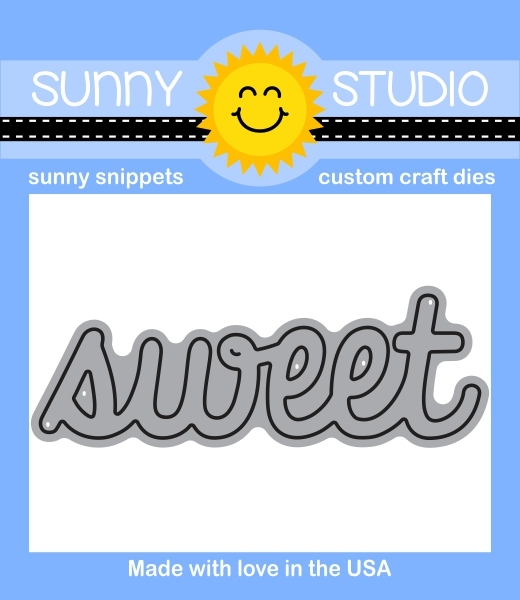 Sunny Studio SWEET WORD Snippets Die SUNNYSS-802 zoom image
