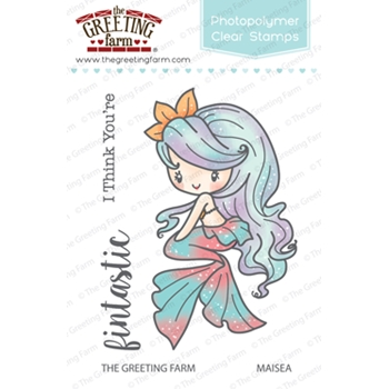 The Greeting Farm MAISEA MERMAID Clear Stamps TGF256