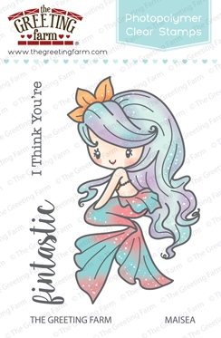 The Greeting Farm MAISEA MERMAID Clear Stamps TGF256 zoom image