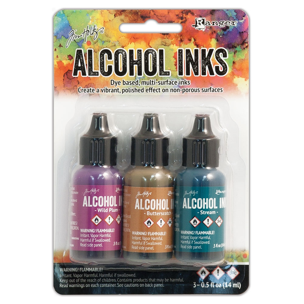 Tim Holtz Alcohol Ink Set NATURE WALK Ranger TIM19787 zoom image
