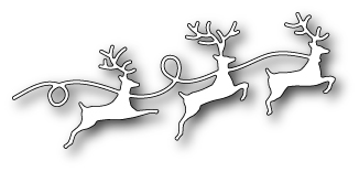 Memory Box REINDEER PARADE Craft Die 99486 Preview Image