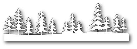 Memory Box FRESH PINE FOREST Craft Die 99498 Preview Image