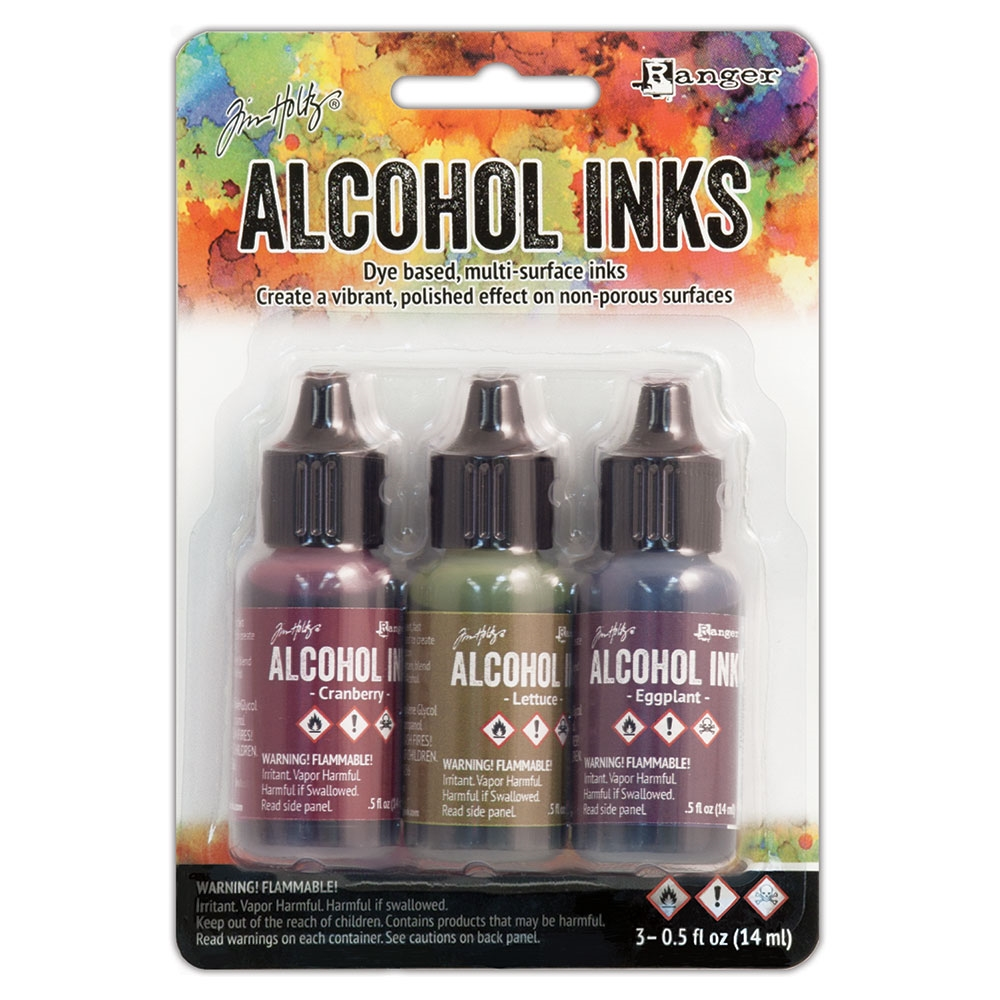 Tim Holtz Alcohol Ink Set FARMER'S MARKET Ranger TIM19763 zoom image