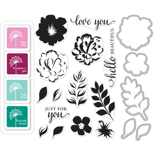 Hero Arts Color Layering FOR YOU FLOWERS BUNDLE SB113 Preview Image