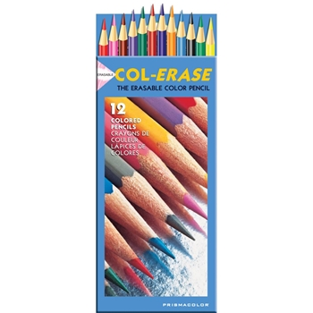 Prismacolor COLERASE COLORED PENCILS SET OF 12 20516