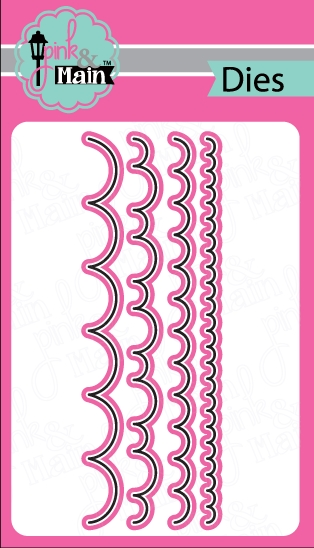 Pink and Main SCALLOP BORDER DIES PNM039 zoom image