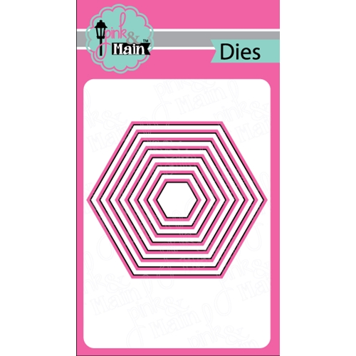 Pink and Main NESTED HEXAGON DIES PNM037 Preview Image