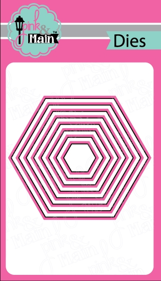 Pink and Main NESTED HEXAGON DIES PNM037 zoom image