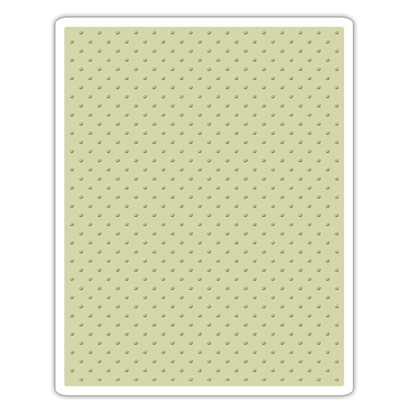 Tim Holtz Tiny Dots Texture Fades Embossing Folder