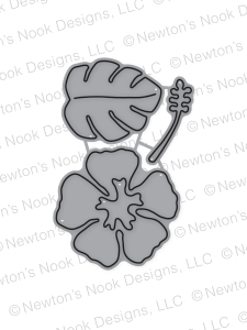 Newton's Nook Designs HIBISCUS DIE 20160711 Preview Image