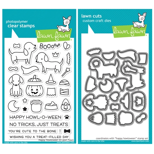 Lawn Fawn SET SULF16SETHH HAPPY HOWLOWEEN Clear Stamps and Dies* Preview Image