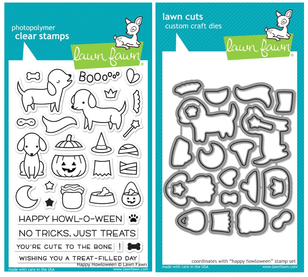 Lawn Fawn SET SULF16SETHH HAPPY HOWLOWEEN Clear Stamps and Dies* zoom image