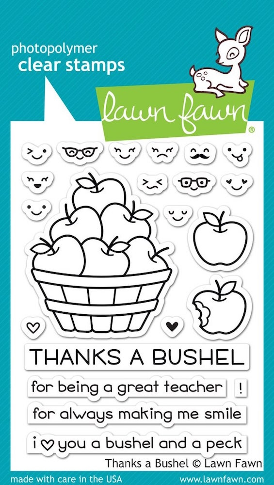 Lawn Fawn THANKS A BUSHEL Clear Stamps LF1208 zoom image