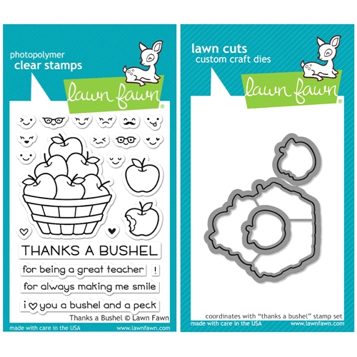 Lawn Fawn SET SULF16SETTAB THANKS A BUSHEL Clear Stamps and Dies Preview Image