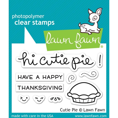 Lawn Fawn CUTIE PIE Clear Stamps LF1210 Preview Image